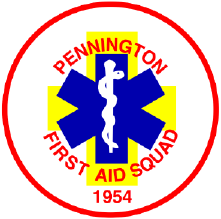 The Pennington First Aid Squad Logo